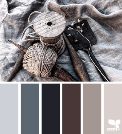 Palette colori 2: Colori freddi ma piacevoli. Sono interessanti per creare un manifesto tendente al monocromatico.                                                                                                                                                      More