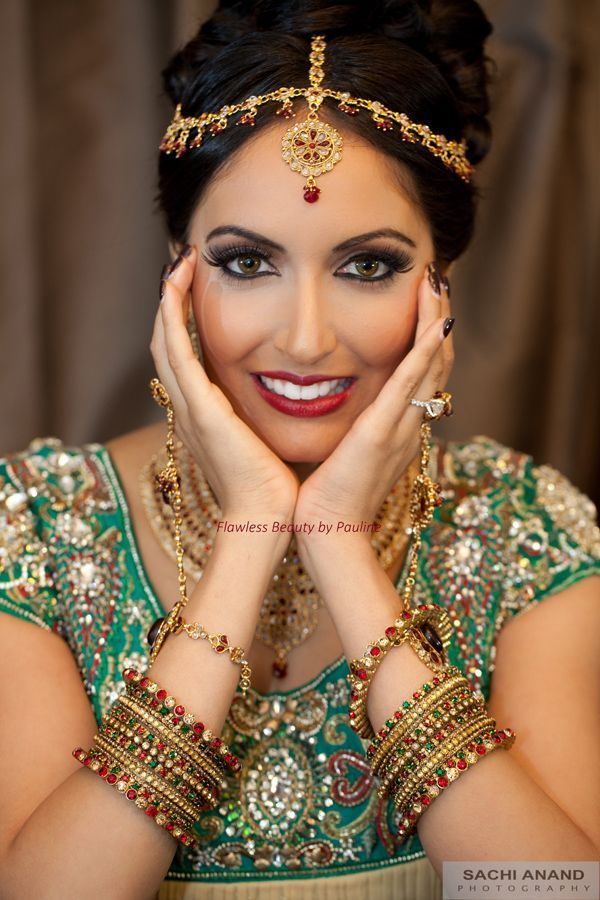 Flawless Beauty By Pauline Indian Wedding Makeup Artist