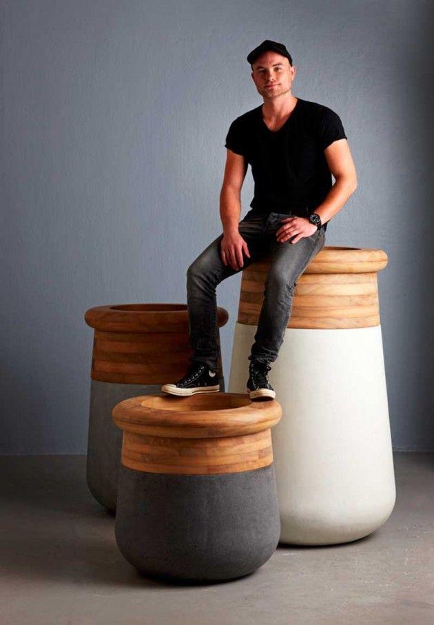 84 Best Images About Concrete Furniture On Pinterest | Industrial ... Soma Blumenkubel Wiid Design Bilder