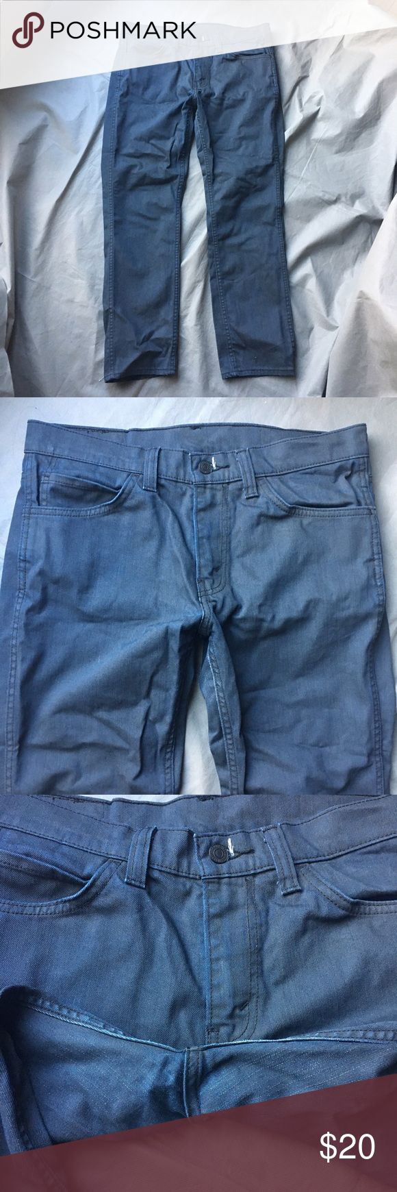 Levi's Blue Jeans Denim 511 32 x 30 Men's Slim Light fading of the blue in certain spots. Otherwise a great pair of jeans. Check out our closet for great bundle offers! Price firm unless bundled! Levi's Jeans Slim