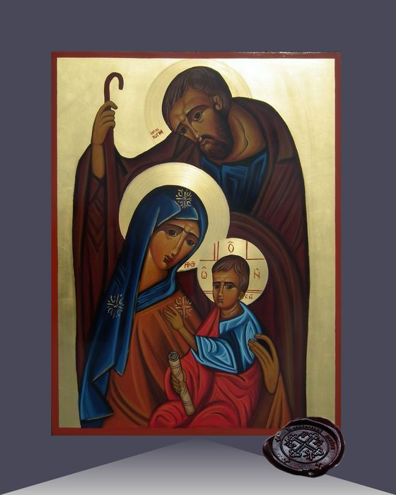 Holy Family by the In Blessed Art Foundation & Icon Workshop of St. Lazarus