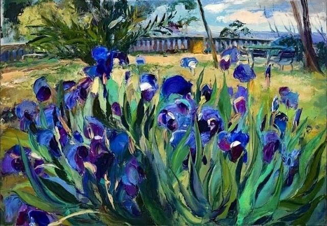ramon vilanova: Ramones Vilanova, Vilanova Artistspaint, Art Floral, Art Grait Painters, Art Ramones, Lavish Landscape, Vilanova Artists Paintings, Gogh Iris, Artists Painters