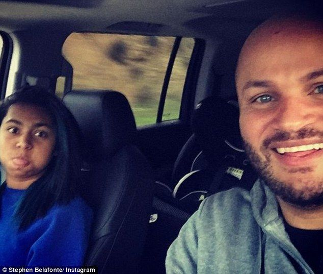 Denial: Mel B's daughter Phoenix speaks out in defence of her stepfather Stephen Belafonte