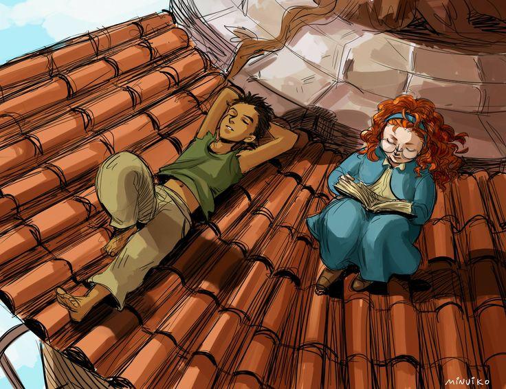 quiet place<<< Tris and Briar. <- I like Briar, not super fond of Tris