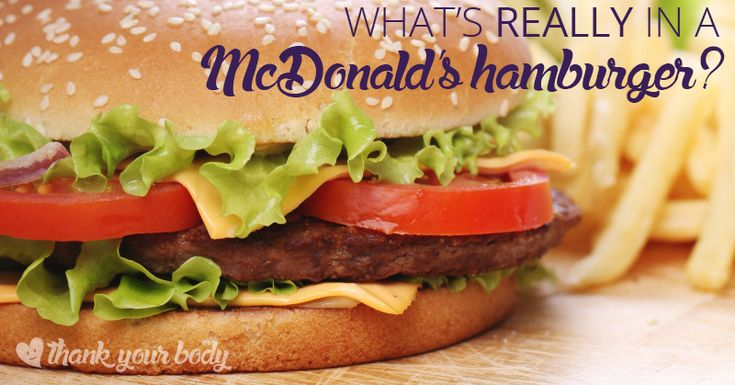 What is really inside a McDonald's hamburger? Does McDonald's hamburger live up to what's advertised? Learn the scary truth about the 'simple' hamburger.