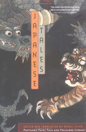 Japanese Tales (Pantheon fairy tale & folklore library) by Royall Tyler, http://www.amazon.com/dp/0375714510/ref=cm_sw_r_pi_dp_Ac-.qb0C9KEDF