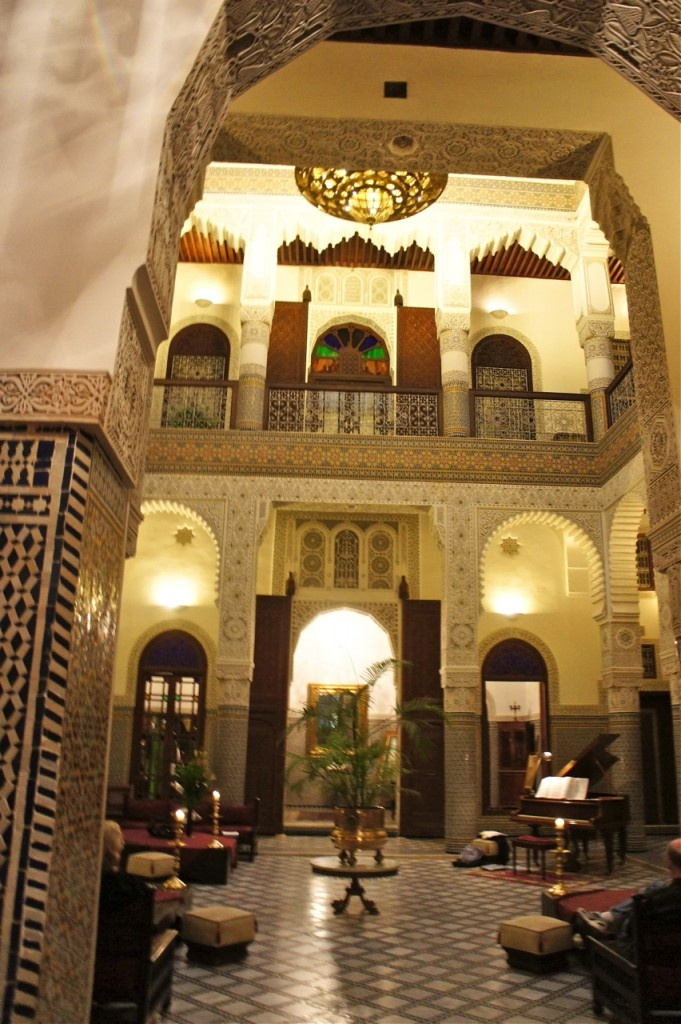 Relais & Chateaux - A subtle mix of Andalusian sumptuousness and Moroccan art de vivre, the Riad Fès reflects its prestigious past and the refined civilisation to which it belongs. Riad Fes #relaischateaux #morocco