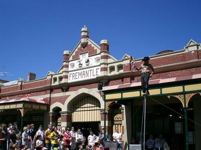 The Fremantle Markets are just a train ride away. They're a favourite of ours for a relaxing day out.  www.ywamperth.org.au