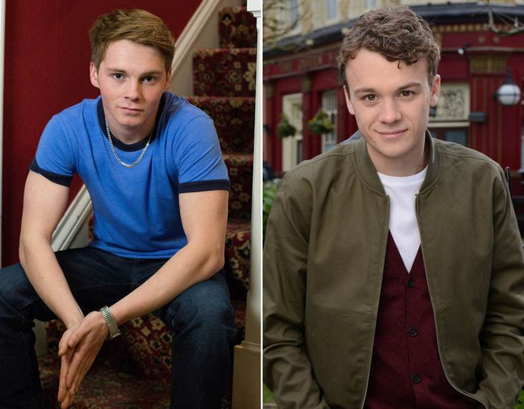 Johnny Carter - first played by Sam Strike (left) followed by Ted Reilly