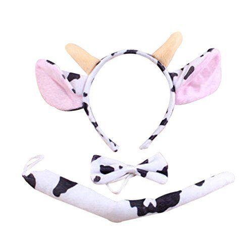Bapabag® Kids Dalmatian Headband Fancy Mouse Tiger Animals Cosplay Halloween Costume (Small, Milk Cow)  #Animals #Bapabag® #Cosplay #Costume #Dalmatian #fancy #Halloween #Headband #Kids #KidsHalloweenCostumes #Milk #Mouse #Small #Tiger Halloween Spirit