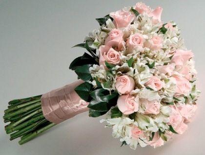 Buquês de noiva com rosa – Tendências 2014