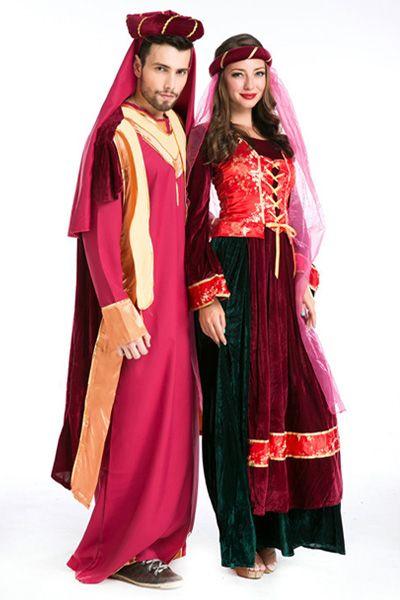 Teamlala 売れ筋 ハロウイン Bollywood Beautyインド風 男性ダンス仮装コスプレ衣装 Halloween ライブイベントアラビア演出コスチューム