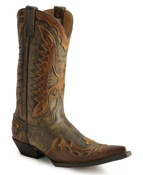 Stetson Vintage Eagle Cowboy Boots $259.99