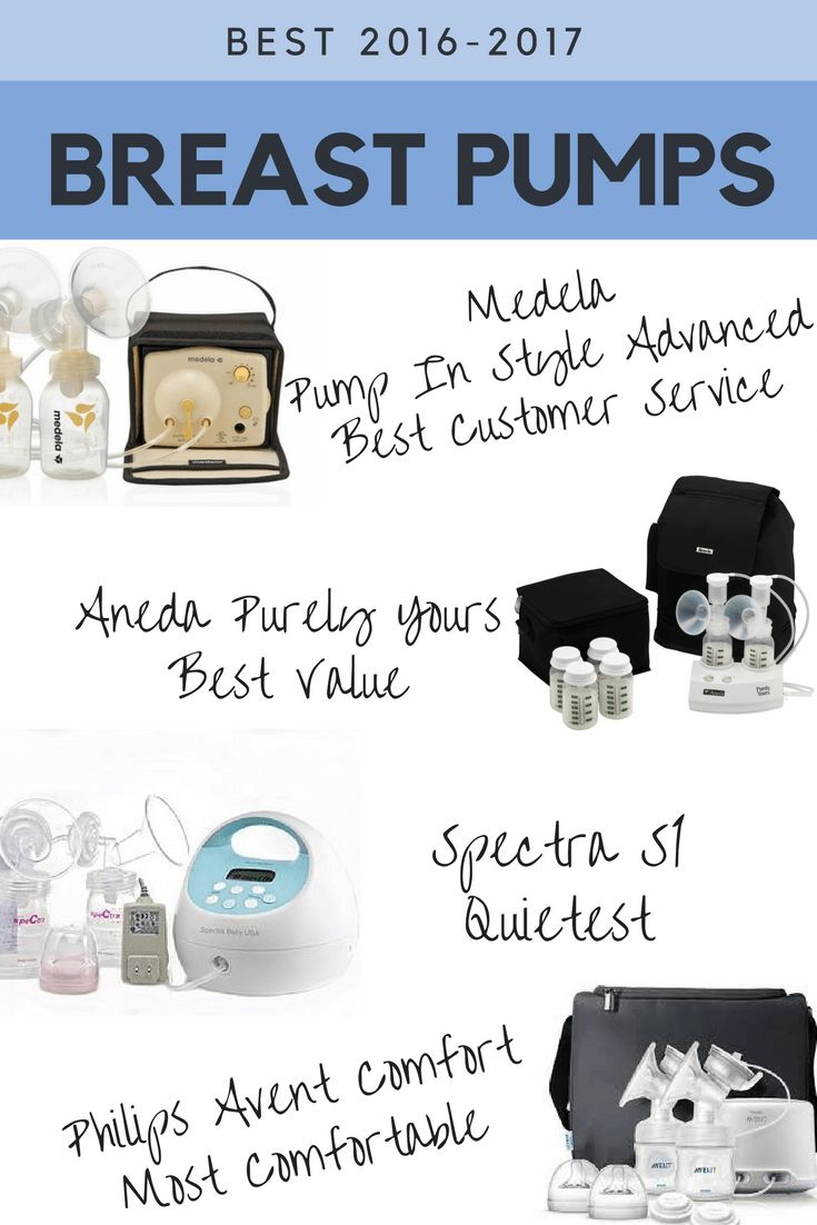 Best breast pumps for working moms 2016 - 2017. Double electric breast pumps.