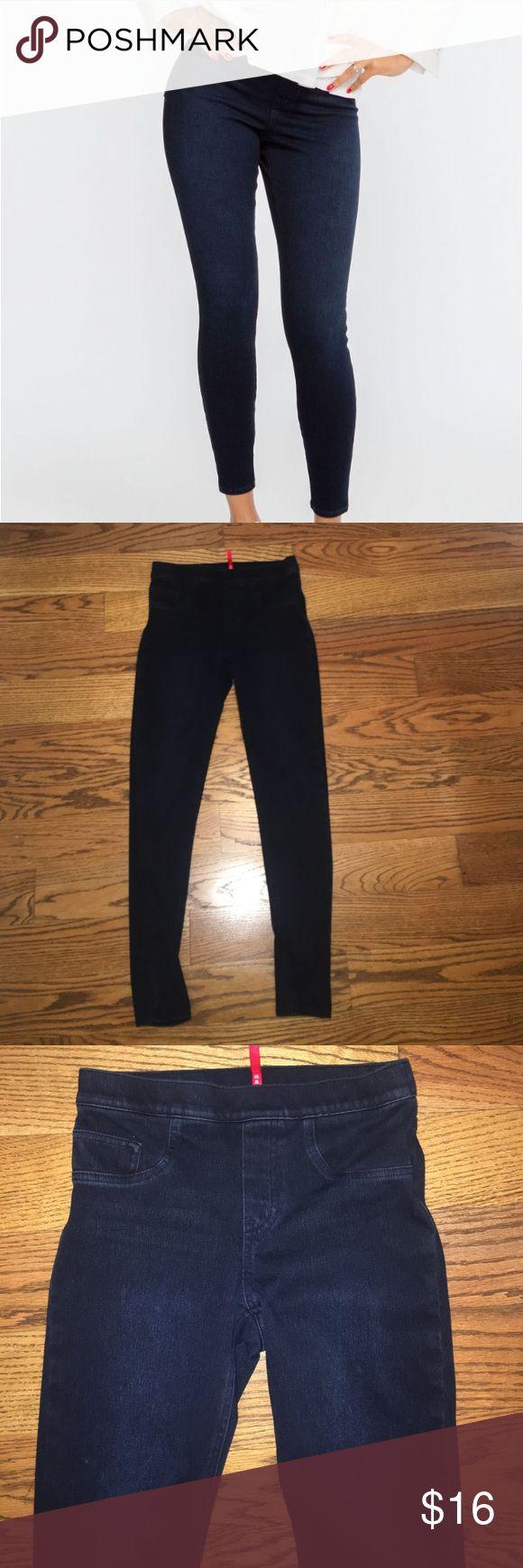 "Spanx jean legging Worn only a few times. Spanx jean legging. 28"" inseem.   Current - in stores SPANX Jeans Skinny"