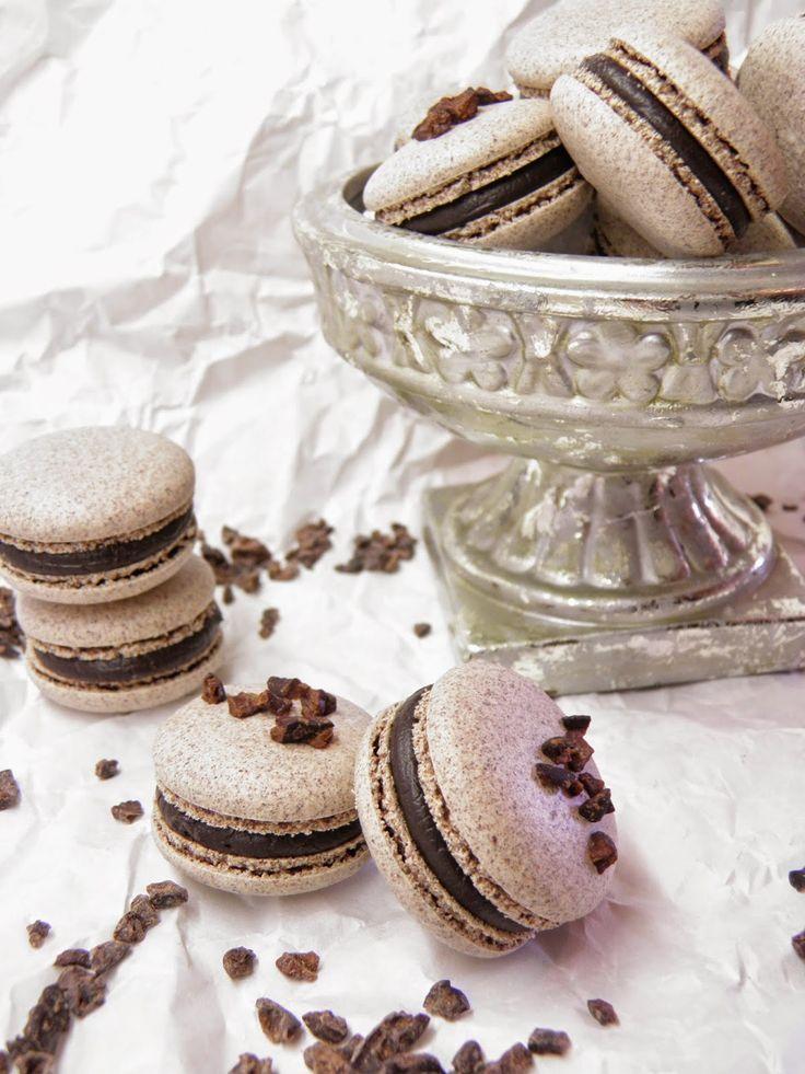 Csokoládé Reformer: Kakaóbablisztes macaron