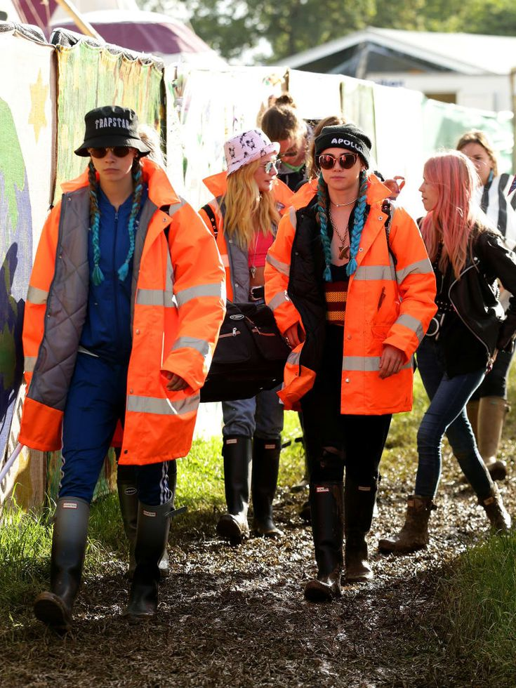 Here's What All The Celebrities Wore At Glastonbury 2016