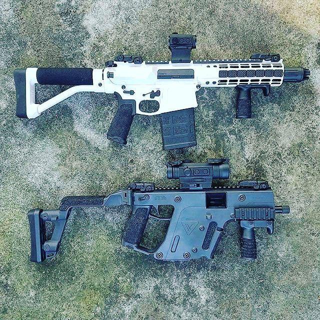 : #Repost @nfafanatics - Pistol caliber Vs Rifle caliber Why choose... when you…