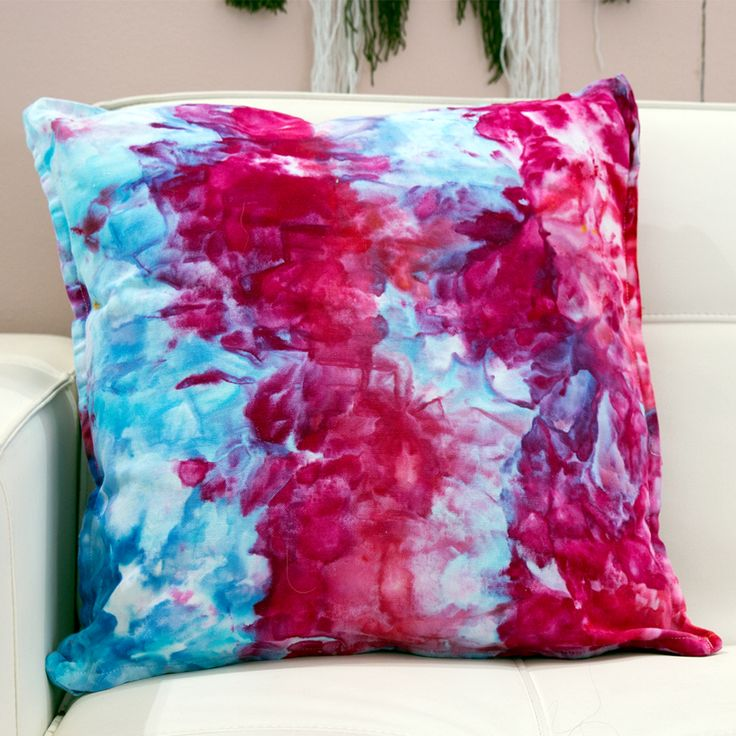 Diy Tie Dye Kit, Diy Videos, Coloring, Throw Pillows, Crafts, Ideas, Home Decor, Home, Home Crafts
