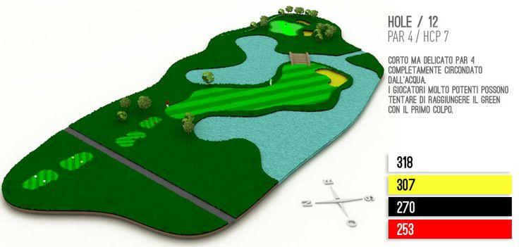 Hole 12 Golf Lignano