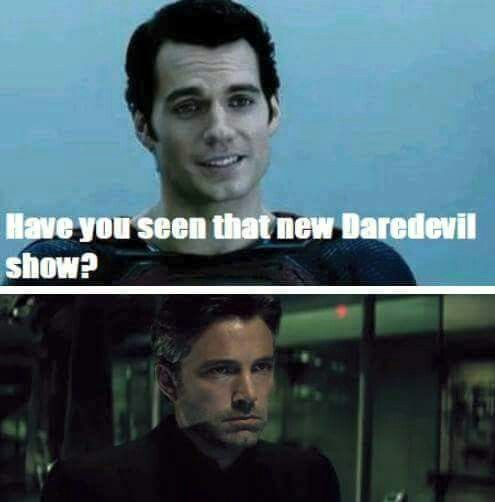 Batman vs Superman meme