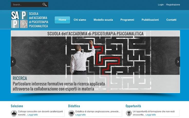 accademiasapp.it Il portale della Scuola dell'Accademia di Psicoterapia Psicoanalitica