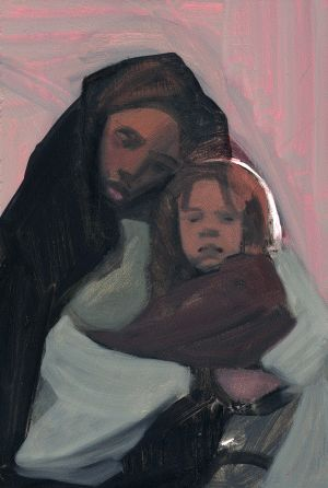 the image of jesus as painted by janet mckenzie Painting religiously vermont artist janet mckenzie won the national catholic reporter's competition for a new image of jesus in 1999 and has received wide attention - both positive and negative.