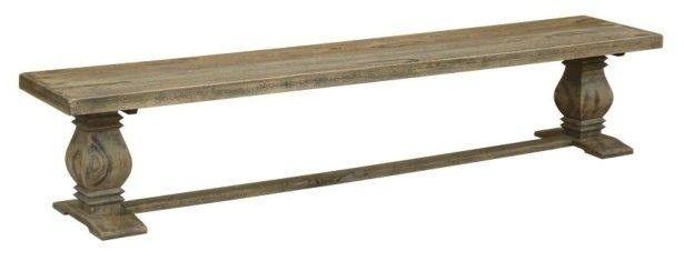 Long Wood Bench Seat 230cm - Mango Wood