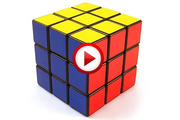 One-handed Push Ups Solving A Rubik's Cube Video #records, #videos, https://facebook.com/apps/application.php?id=106186096099420
