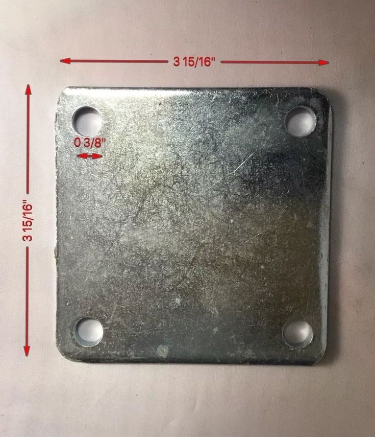 Pin On Heavy Duty Steel Brackets