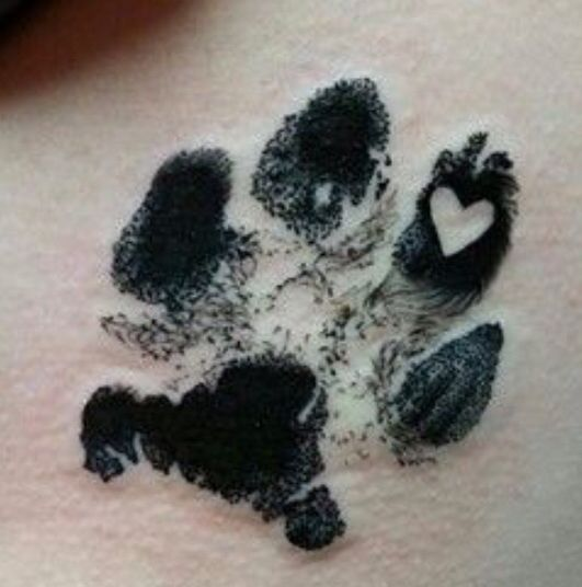 Just what I want to do with my Kalliope's paw print!