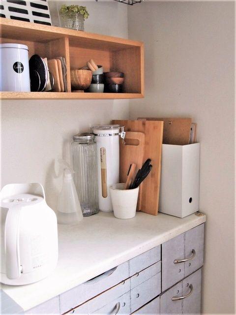 ◆9月の良品週間。簡単タイルシートで白キッチンに変化! - はなうたさんぽ。