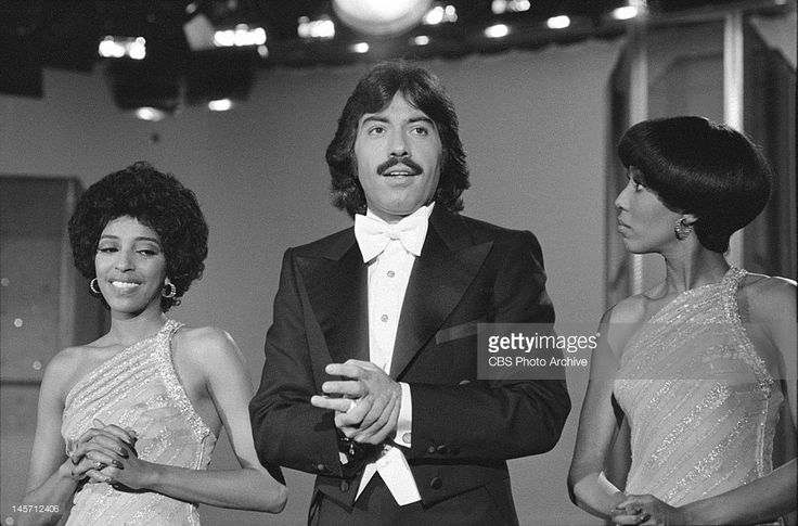 Tony Orlando and Dawn (Thelma Hopkins, right, and Joyce Vincent Wilson) perform. Description from gettyimages.co.uk. I searched for this on bing.com/images