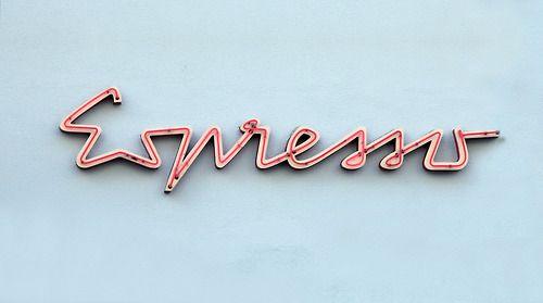 Espresso typography