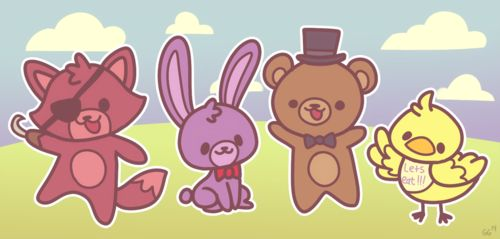 Kawaii Five Nights at Freddy's