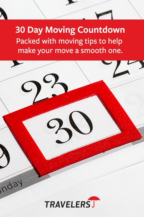 Planning To Move Get 30 Things To Do For 30 Days To Help Make Your Move Easier Moving Guide Moving Tips Moving Day