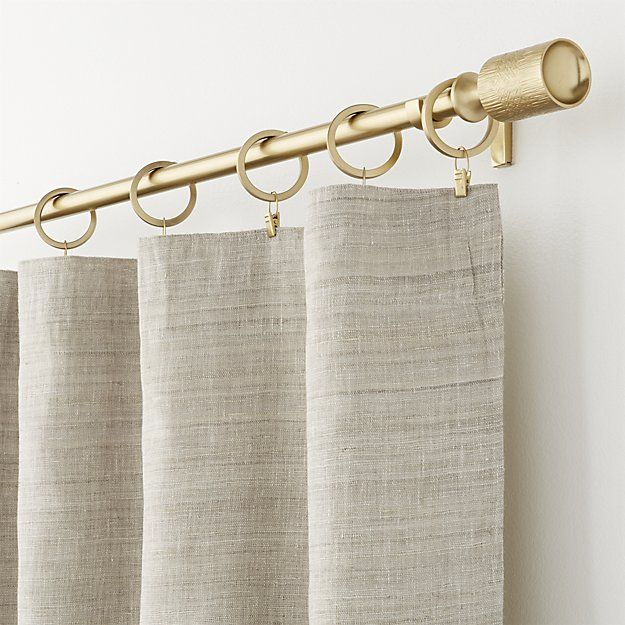 Shop Silvana Grey Silk Curtain Panel.  Frame your windows in a silk-blend curtain in a soft grey that reads neutral.  Linen yarns add texture to the lustrous sheen of pure silk, making this lined curtain perfect for both casual and formal rooms.