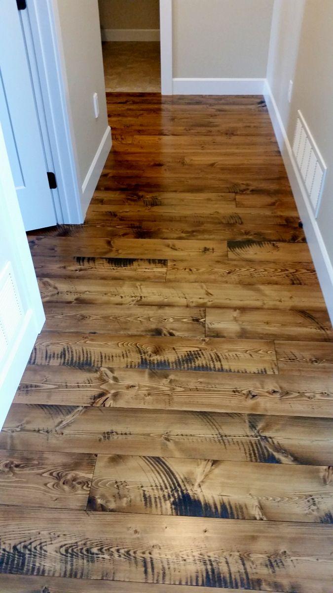 Circular sawn Doug Fir flooring from Sustainable Lumber Co