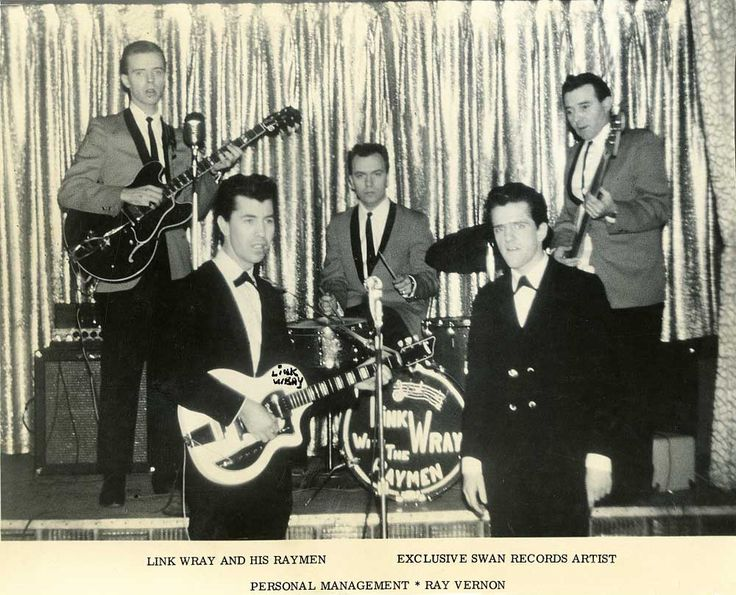 Link Wray And His Raymen The Shadow Knows