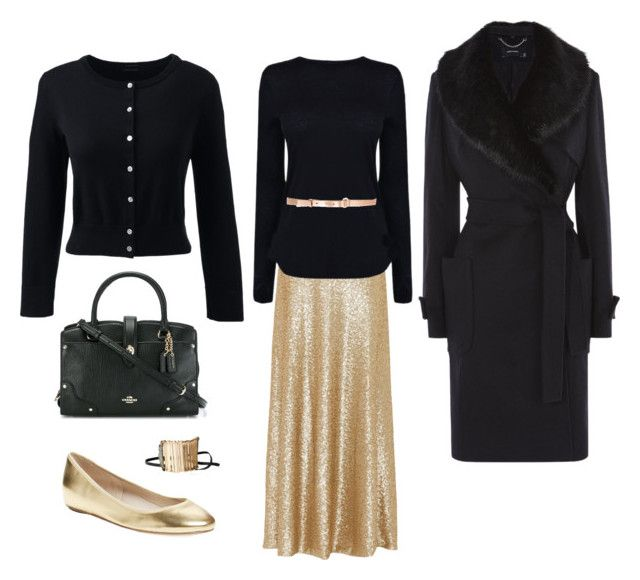 """""""Special Occasion Outfit   Modest   Church   Banquet   Conference"""" by my-apostolic-pentecostal-self on Polyvore featuring Slate & Willow, Helmut Lang, M Missoni, Coach, Lands' End, Elorie and Federica Tosi"""