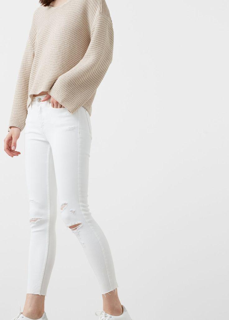 Skinny jeans in 7/8-länge isa | MANGO