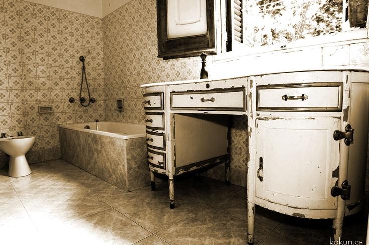 El baño... Muebles y detalles de #CanMontmeló
