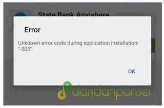 Penyebab dan Cara Mengatasi Error 505 di PlayStore
