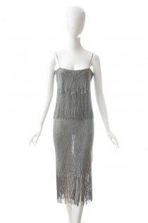 MOSCHINO Couture šaty v duchu secese 38