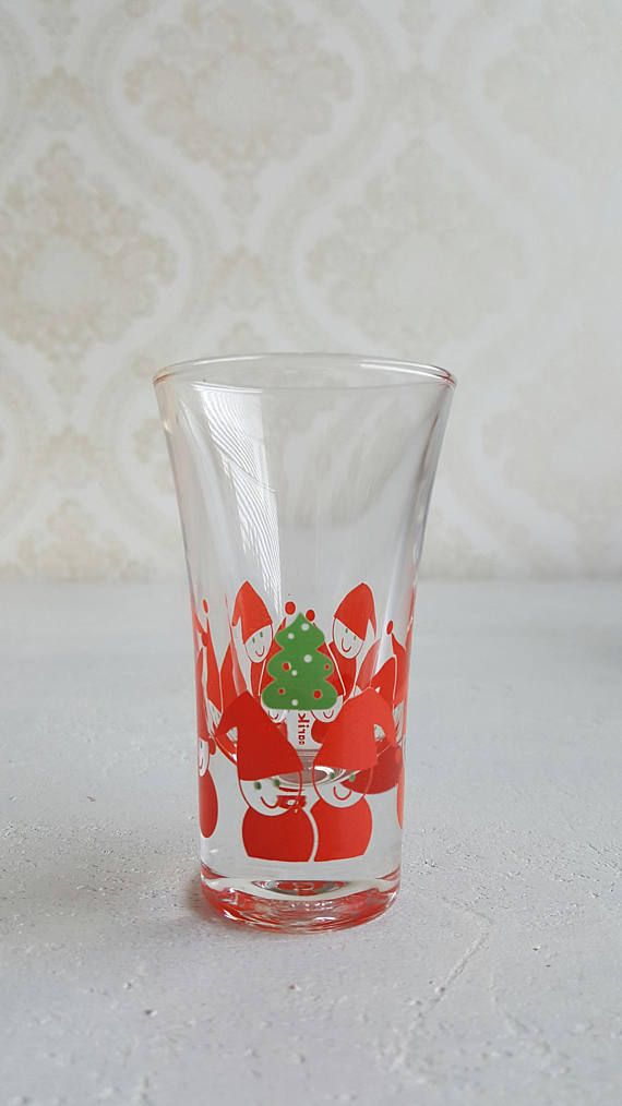 Aarikka Finland Christmas Schnapps Glass Made in Finland in