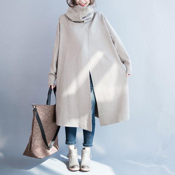 Women long sleeve Irregular sweater - Buykud- 1