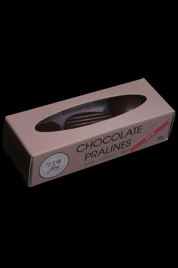 Raw Chocolate Pralines Mix, Raw Vegan, Clean Eating, Bio