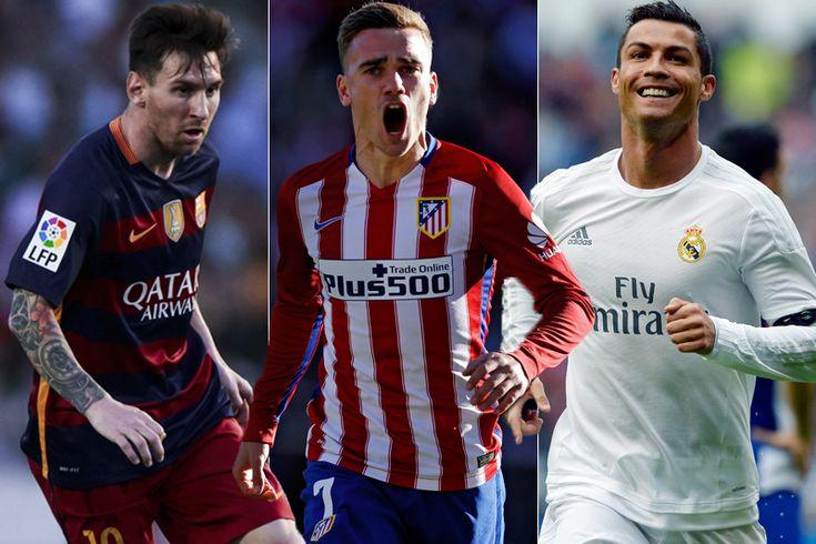 Griezmann: Sulit Menangkan Ballon d'Or Jika Masih Ada Messi dan Ronaldo