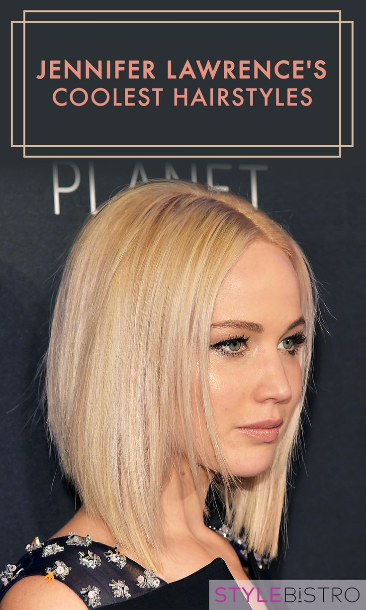The chicest hairstyles Jennifer Lawrence has rocked.
