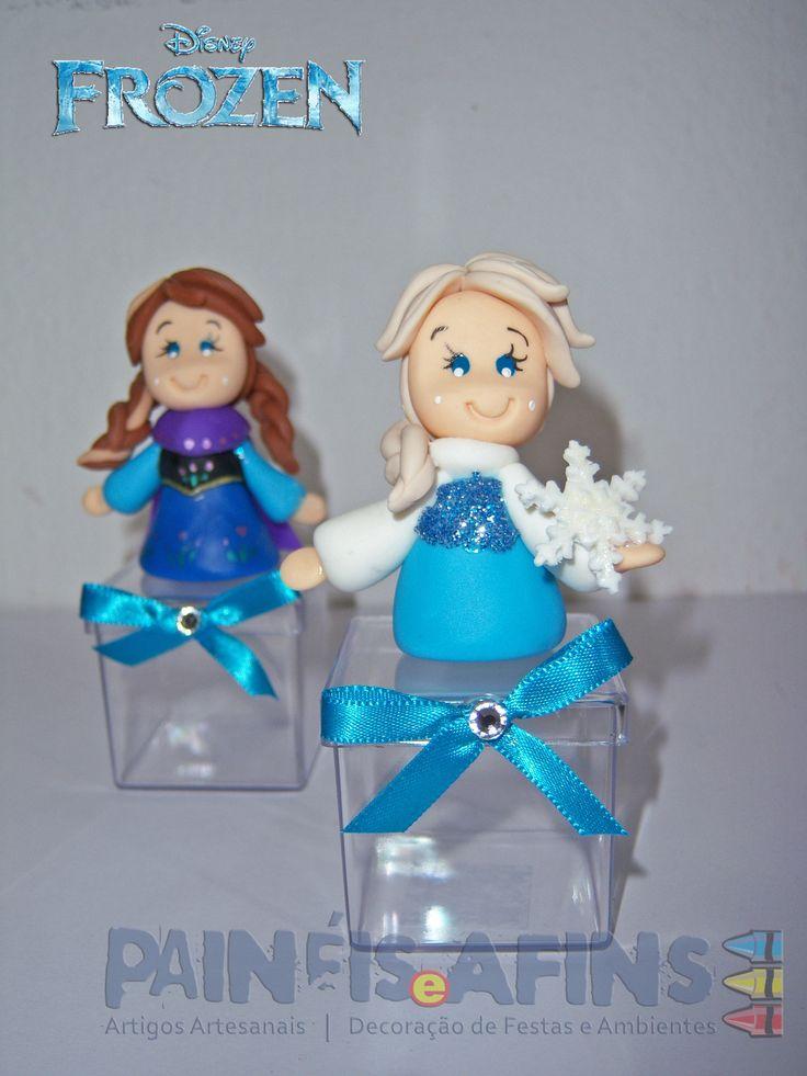 Caixinhas de acrílico personalizadas #frozen #disney